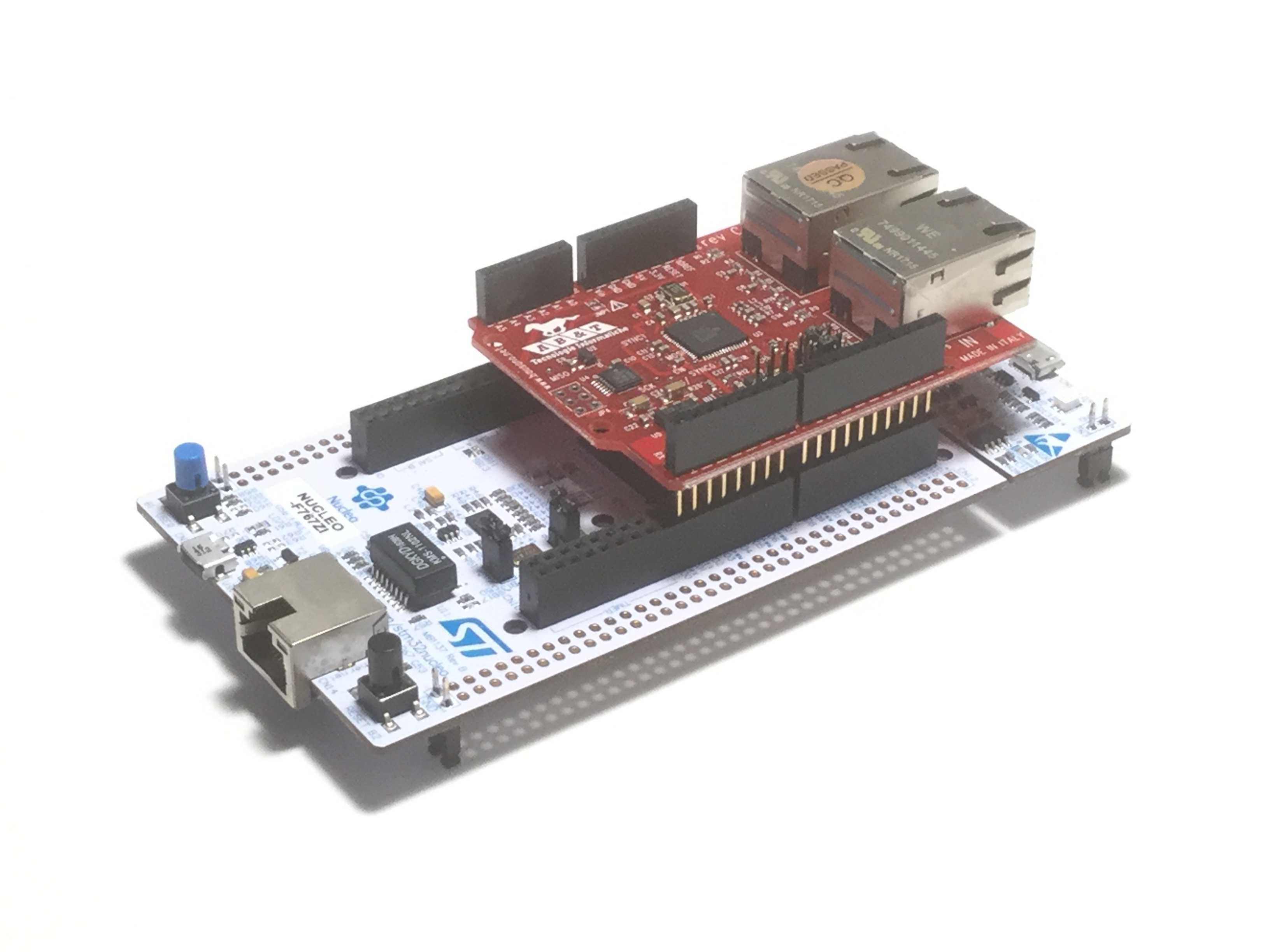 Easycat Nucleo on Arduino Ether Shield Pins